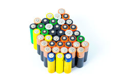 Batteries Image libre de droits