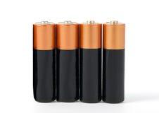 Batteries Photo libre de droits