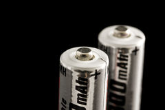 Batteries Images libres de droits