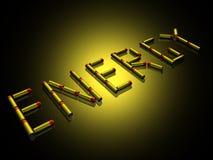 batteries 3d Image libre de droits