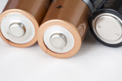 Free Batteries Royalty Free Stock Photography - 66261847