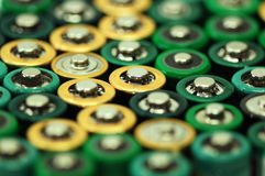 Batteries Photo stock