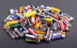 Batteries AA size Stock Photos