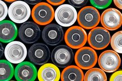 Batteries Royalty Free Stock Image