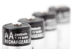 Batteries cells Royalty Free Stock Photography