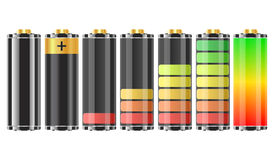 batteries 3d Images stock