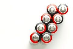 Batteries d'aa Photo libre de droits