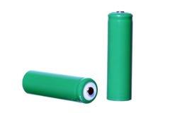 Batteries d'aa Image stock
