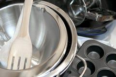 Batteries de cuisine Photographie stock libre de droits