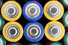 Batteries de rebut Images stock