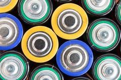 Batteries de rebut Image libre de droits