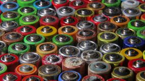 Batteries from different manufacturers, collection and recycling