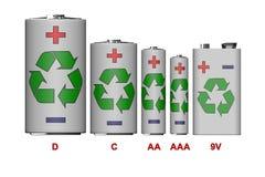 Batteries Stock Image