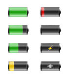 Batteries energy Stock Image