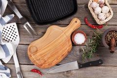 Batteries et épices de cuisine Image stock