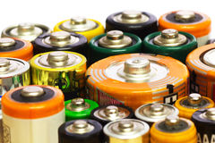 Batteries Royalty Free Stock Photos