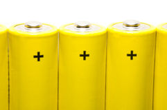 Batteries isolated Royalty Free Stock Photos