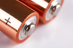 Batteries Royalty Free Stock Photography