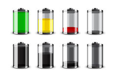 Batteries vector Stock Photography
