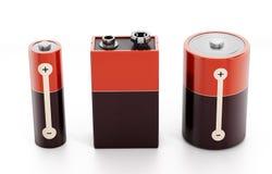 Batteries Royalty Free Stock Photos