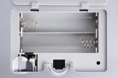 Batterieschlitz Lizenzfreie Stockbilder