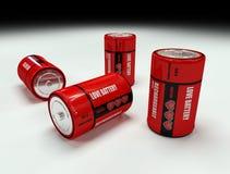 batteriförälskelse Fotografering för Bildbyråer