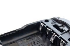 Batterihålighetformat aaa som är alkaliskt på isolat Royaltyfria Bilder