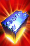 Batterij Royalty-vrije Stock Afbeeldingen