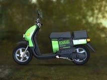 Batterij in werking gesteld vervoer Stock Afbeelding