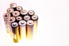 Batterijen royalty-vrije stock foto