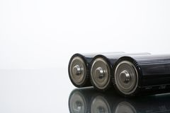 Batterijen Royalty-vrije Stock Afbeelding