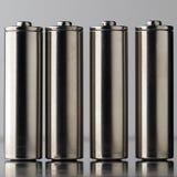 Batterijen stock afbeelding