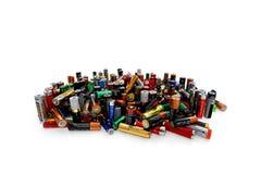 Batterijen stock foto's