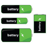 Batterijen royalty-vrije illustratie