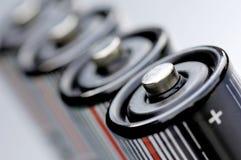 Batterijen Stock Foto