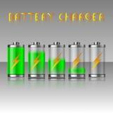 Batterijlader Stock Foto's