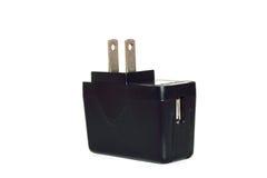 Batterijlader voor mobiel Stock Foto