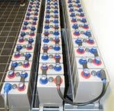 Batterijpakken royalty-vrije stock foto