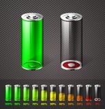Batteriladdning Arkivbild