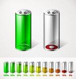 Batteriladdning Fotografering för Bildbyråer