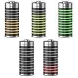 Batteriladdning Royaltyfria Bilder