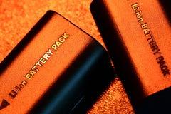 Batteripacke Arkivbild