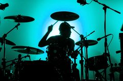 Batterista Fotografie Stock