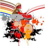 Batterista Immagini Stock Libere da Diritti
