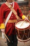 Batterista britannico dell'esercito Fotografie Stock Libere da Diritti