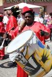 Batterista caraibico Fotografia Stock Libera da Diritti