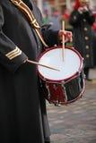 Batterista dell'esercito Fotografia Stock