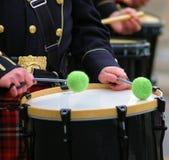 Batterista di giorno della st Patricks Fotografia Stock