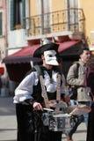 Batterista travestito Fotografia Stock Libera da Diritti