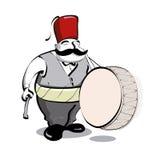 Batterista turco Immagine Stock